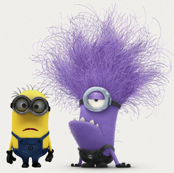 Large Despicable Me Minions - Phil &  Evil Minion