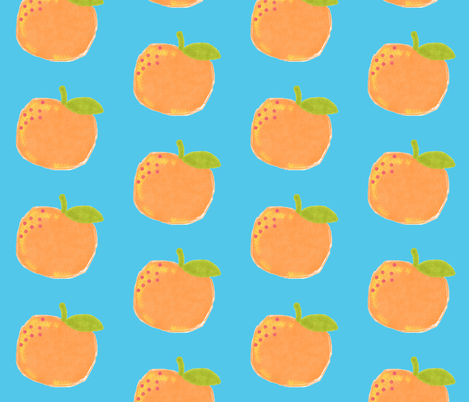 peachy-keen fabric by laurenmholton on Spoonflower - custom fabric