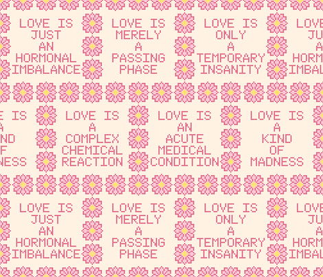 cynical cross-stitch fabric by sef on Spoonflower - custom fabric