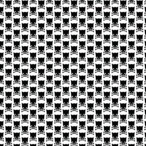 Cat skulls