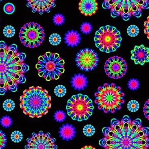 Kaleidoscope flowers