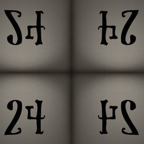 The Deathly Number 24 for E.A. Poe