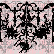 R1892_bird_on_a_wire_damask___dauphine_with_black__wilver_leaf_and_pewter_shop_thumb