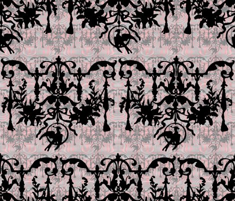 R1892_bird_on_a_wire_damask___moire___dauphine_with_black__wilver_leaf_and_pewter_shop_preview