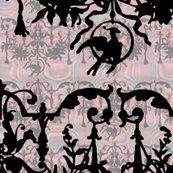 R1892_bird_on_a_wire_damask___moire___dauphine_with_black__wilver_leaf_and_pewter_shop_thumb