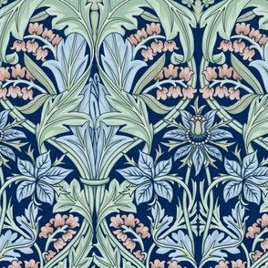 William Morris Bluebell/Columbine