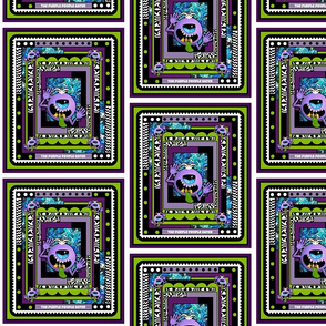 Purple People Eater Small Blocks