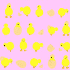 easter_chicks_on_pink