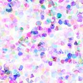 Confetti Purple Sparkles