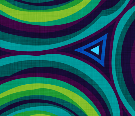 Malachite fabric by spellstone on Spoonflower - custom fabric