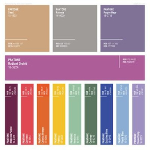 Pantone® Spring 2014 Color Swatches