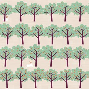 Orange Orchard by Friztin