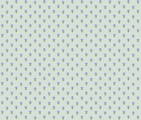 blueflower5 fabric by penelopeventura on Spoonflower - custom fabric