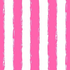 hot hot pink stripes