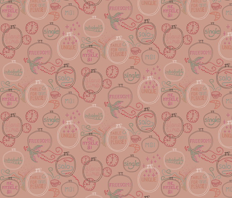 Single fabric by graceful on Spoonflower - custom fabric