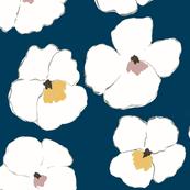 warhol garden -teal-