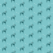 Dala Horse in French Blue