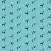 Dala Horse in French Blue