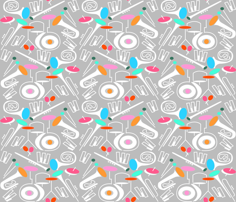 Sound_of_jazz 01 fabric by sarahsarah on Spoonflower - custom fabric