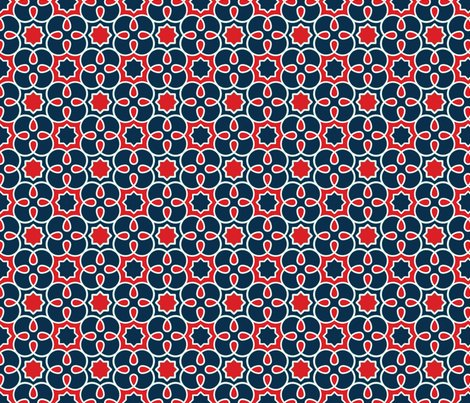Graphic_loopy_4_pattern_plus_blue_red_quilting_scale_shop_preview