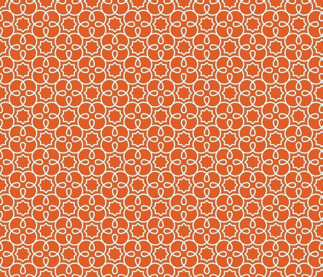 Graphic_loopy_4_pattern_orange_quilting_scale_shop_preview