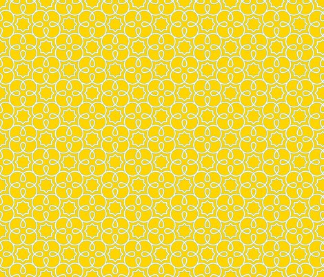Graphic_loopy_4_pattern_yellow_quilting_scale_shop_preview
