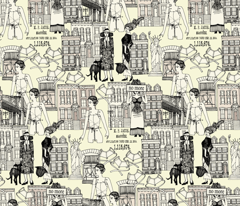 handkerchiefs and ribbons fabric by scrummy on Spoonflower - custom fabric