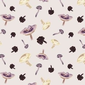 Mauve Mushrooms
