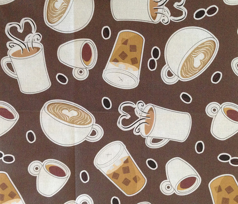 Coffee Lover - Brown and Gray