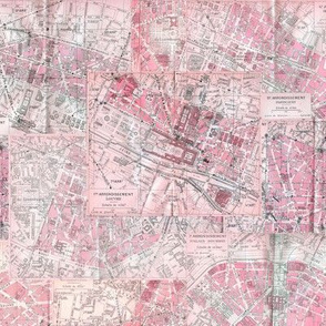 Paris City of Love Maps
