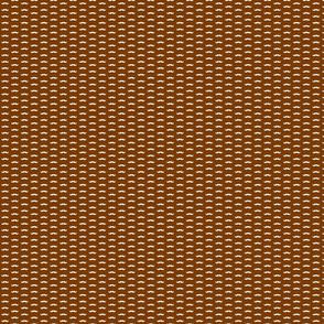 cream mustaches/ brown background