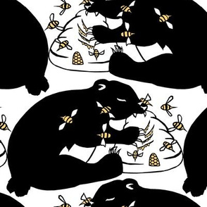 Bears with Honey