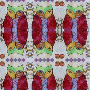 Swirly Owl