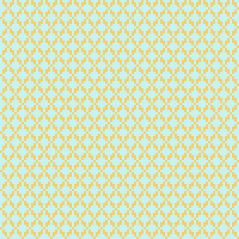 Solitude cross stitch lattice fabric by mongiesama on Spoonflower - custom fabric