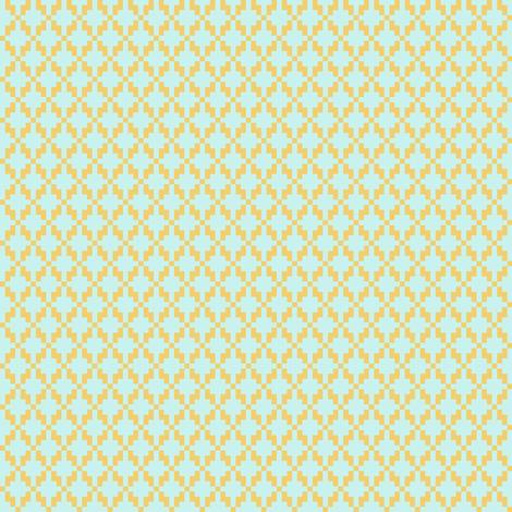 Solitude cross stitch lattice fabric by mongiesama on Spoonflower - custom fabric
