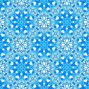 Kaleidoscopic Onion - Blue