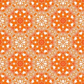 Kaleidoscopic Onion - Orange