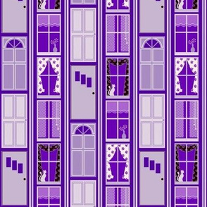 Doors and Windows - Purple