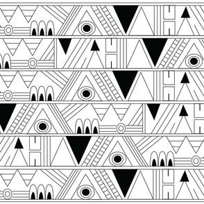 Aztec Geometric