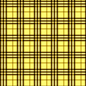 MELLOW YELLOW PLAID