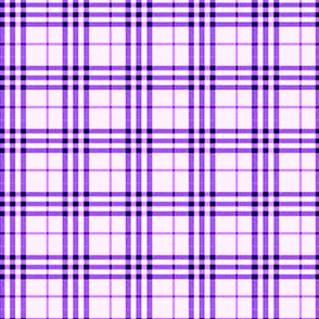 PURPLE PASSION PLAID
