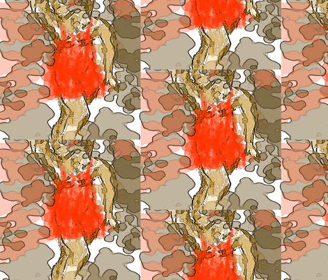 sleeping-beauty-shelley-jones fabric by sjones on Spoonflower - custom fabric