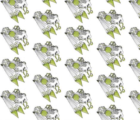 Leo Gem fabric by sugar's_creations_ on Spoonflower - custom fabric
