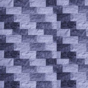 DELFT BLUE VICTORIAN ZIG-ZAG
