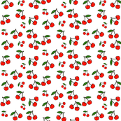 Cherry Bombs Away in Classic Red -- Small Print