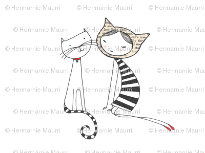marniemakes cat friends