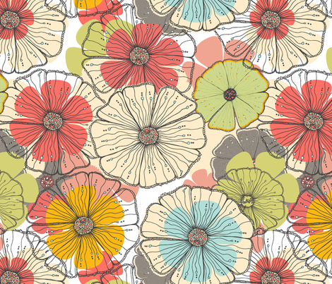FLBTS140002 | By the streams fabric by njeridesigns on Spoonflower - custom fabric