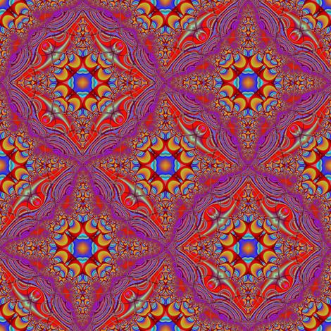 Vivid Crescents and Purple Lace