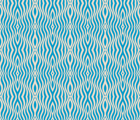 The sound of blues fabric by miamaria on Spoonflower - custom fabric