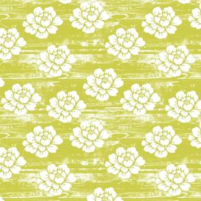 Lime Floribunda grunge